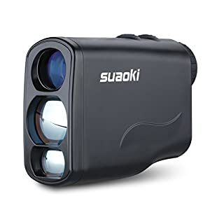 Suaoki 660 Yards Digital Laser Rangefinder Scope Speed Measurement with Unique Distance Correction Function Perfect for Golf Hunting