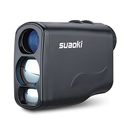 Suaoki Golf Laser Rangefinder with Fog ,Horizontal Distance, Height, Speed Measurement and Unique Distance Correction Function by Suaoki