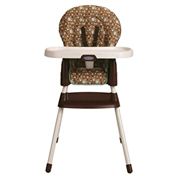 Graco SimpleSwitch Convertible High Chair and Booster, Little Hoot