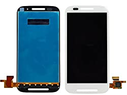 JSI for Moto E (4.3 inch) LCD (Digitizer Screen Replacement-Motorola) White