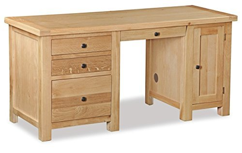 Helford Oak Large Desk