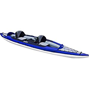 Buy Aquaglide Columbia Tandem HB Inflatable Kayak by Aquaglide