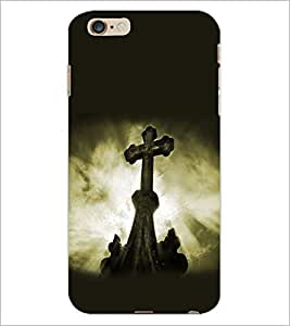 PrintDhaba Cross D-2179 Back Case Cover for APPLE IPHONE 6S (Multi-Coloured)