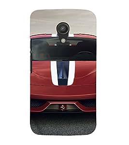 EPICCASE Ferrari Mobile Back Case Cover For Moto G 2nd Gen (Designer Case)