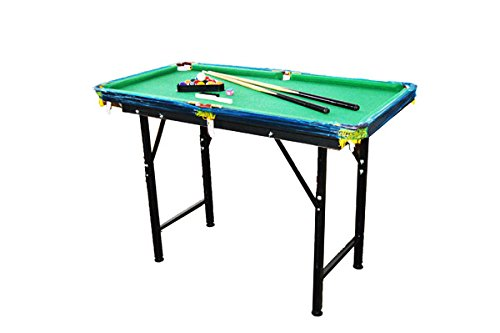 47u2033 Mini Foldable Portable Pool Table Billiard Table Full Set