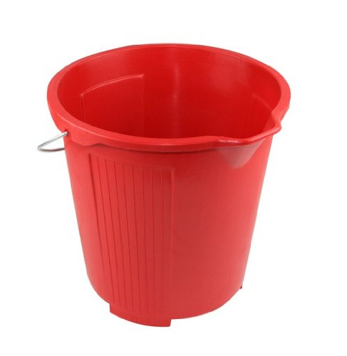 Kent Car Care Plastic Bucket 10 L - Red