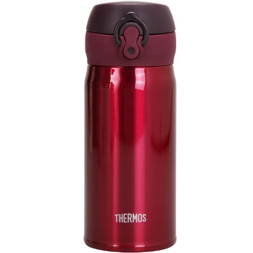 Mobile vacuum insulation mug THERMOS] [one-touch open type 0.35L burgundy JNL-350 BGD