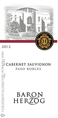 2012 Baron Herzog Paso Robles Cabernet Sauvignon 750 Ml