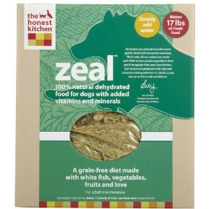 Honest Kitchen Zeal, Grain-Free Dehydrated Raw Dog Food w/ Wild-Caught White Fish, 4lb
