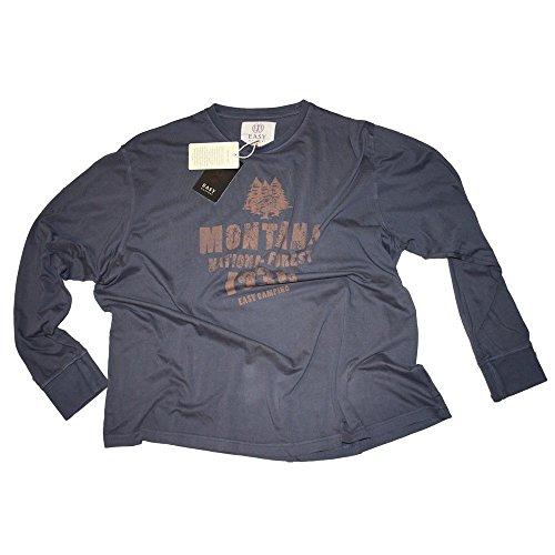 T-shirt Maxfort 21243 taglie forti uomo - Grigio, 4XL