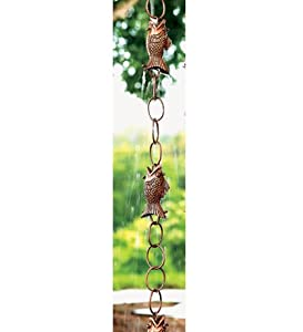 Copper Fish Rain Chain