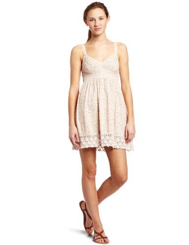 ONEILL W APPAREL Juniors Honalula Dress, Love Child, X-Small