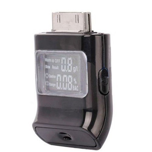 Image of 2012 Breath Alcohol Tester For Iphone/Ipad/Ipod (B00AKRM5A6)