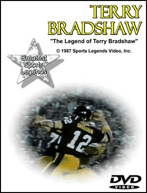 Cover art for  Terry Bradshaw Greatest Sports Legends DVD