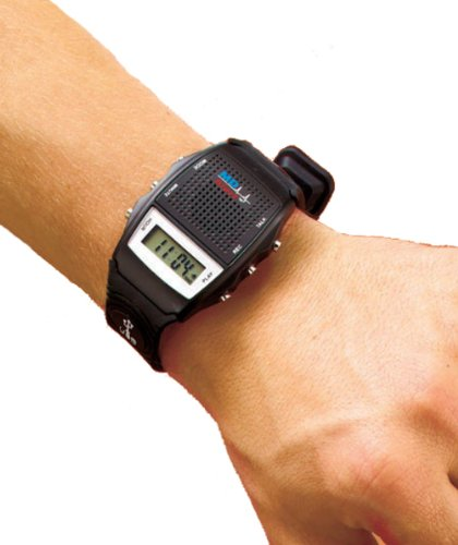 Md Alert Talking Usb Medical Data Wristwatch Watch