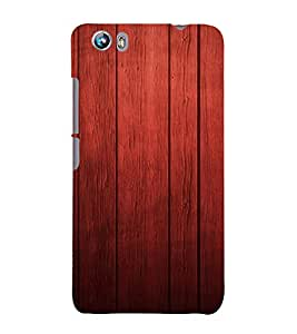 PrintVisa Rich Wood Pattern 3D Hard Polycarbonate Designer Back Case Cover for Micromax Canvas Fire 4 A107