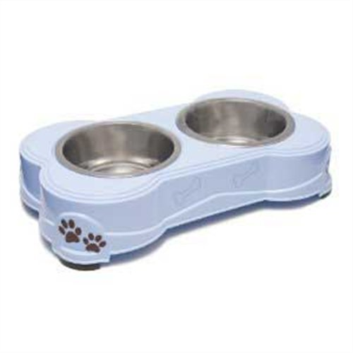 Loving Pets Dolce Diner Dog Bowl, Medium, 1 Quart, Murano