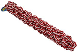 Amazing Pet Products Retriever Rope Dog Toy, 18-Inch, Red