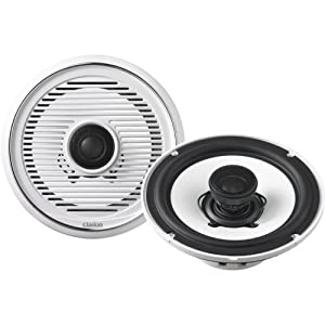 Clarion CMG1720R 7-Inch 2-Way Marine Coaxial Speakers from Clarion Mobile Electronics
