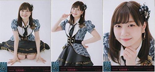 NMB48 渡辺美優紀卒業コンサート 会場生写真 3枚コンプ 松岡 知穂