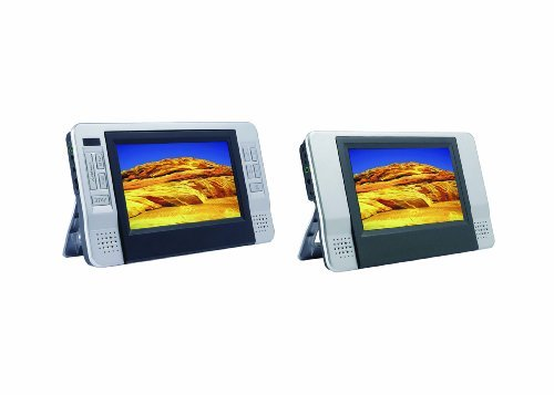 Sylvania SDVD8727 7 Inch Dual Screen Portable DVD Player.
