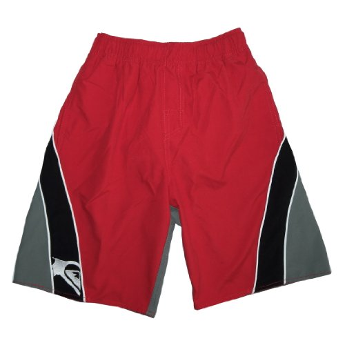 Boys QUIKSILVER SPLIT PEAK Surf Board Shorts - With Built-In Mesh Brief - Size: M