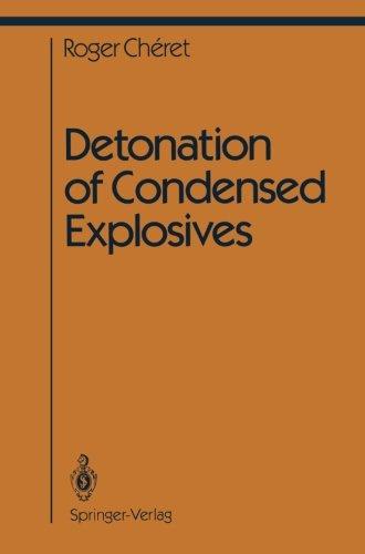 Detonation Of Condensed Explosives (Shock Wave And High Pressure Phenomena)