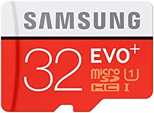 Samsung Speicherkarte MicroSDHC 32GB EVO Plus UHS-I Grade 1 Class 10 (bis zu 80MB/s lesen, bis zu 20MB/s schreiben) mit SD Adapter, frustfrei