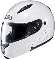HJC Helmets CL-MAX 2 Helmet (White, Large) by HJC Helmets
