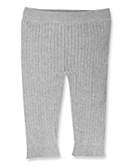 Pure Cotton Cable Knit Leggings