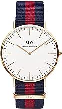 Comprar Daniel Wellington 0101DW - Reloj analógico de cuarzo para hombre con correa de nylon, color multicolor
