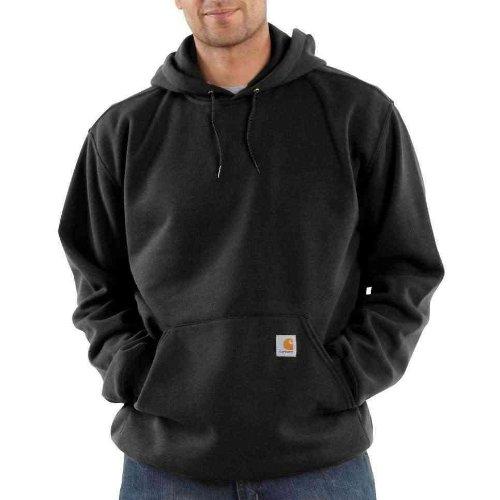 Carhartt Midweight Hooded Sweatshirt Black M,L,XL,XXL Mens