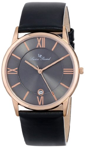 Rose Gold And Black Watch