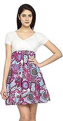 Texco Garments Women's A-Line Dress (2, Pink, L)