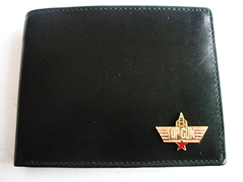 Top Gun Movie Bi-Fold Italian Leather Wallet