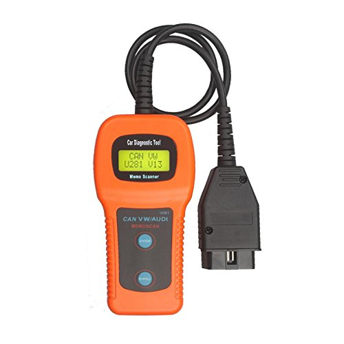 U281 OBD2 OBDII CAN Auto Scanner Code Reader AirBag ABS Reset TooL VW Audi Skoda (Can Scanner compare prices)