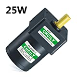 Fetcus Induction motor 25W Constant speed motor 4IK25GN 110V/220V/380V 80mm Singal phase - (Speed: 15RPM) (Tamaño: 15RPM)