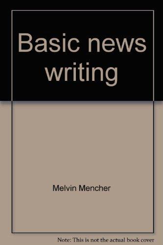 Basic news writing: Workbook