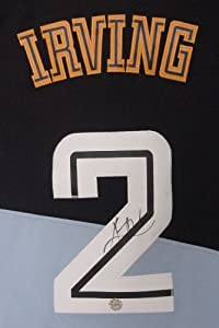 Kyrie Irving Cleveland Cavaliers Autographed Throwback Black #2 Jersey by Sports-Autographs