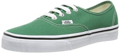 Vans U AUTHENTIC VERDANT GREEN/T VVOE4NM Unisex-Erwachsene Sneaker, GrÃ1/4n (verdant green/t), EU 34.5 (US 3.5)