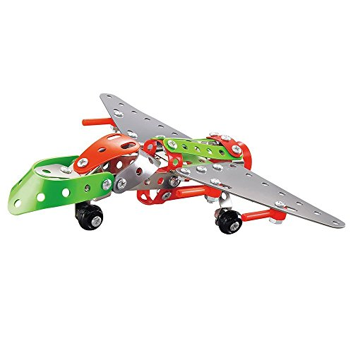 Easy-Gift-Airplane-Metal-Brick-DIY-Model-Construction-Set-Educational-Toy-3D-Laser-Cut-Stainless-Steel-Metal-Models-Block-Kits