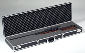 Waffenkoffer AluPlus Protect 49, schwarz, Schaumpolster, Zahlenschloß