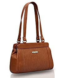 Fostelo Women's Handbag Tan (FSB-387)