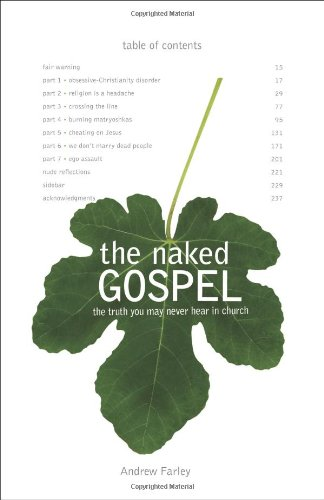 Cover of The Naked Gospel: The Truth You May Never Hear in Church