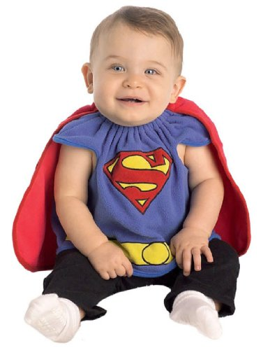 Rubies Men's Superman Costume Bib