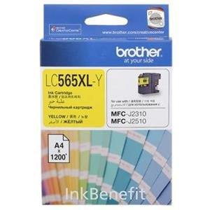 Brother LC565XL Ink Cartridge - Yellow Ink
