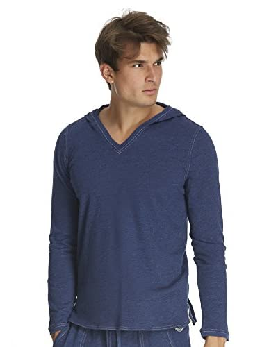 Buffalo Men's Subyarn Terry V-Neck Hoodie