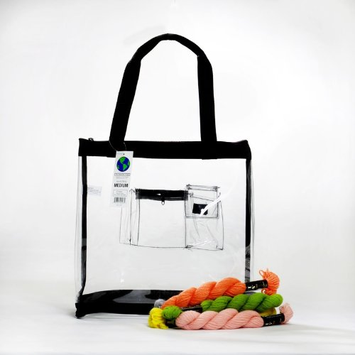 Wholesale Heavy Duty Clear Medium Tote Bag Case Of 25