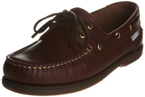 Quayside Unisex Clipper Boat Shoe Chestnut qclichxxxx43 9 UK