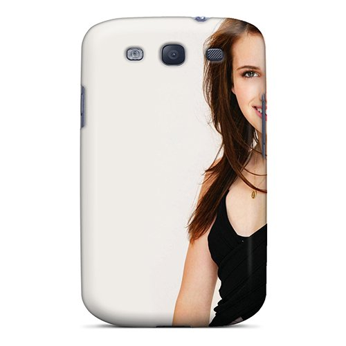 Galaxy S3 Cover Case - Eco-Friendly Packaging(Emma Roberts Hotel For Dogs Shoot) front-710557